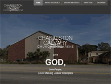 Tablet Preview of charlestoncalvary.org